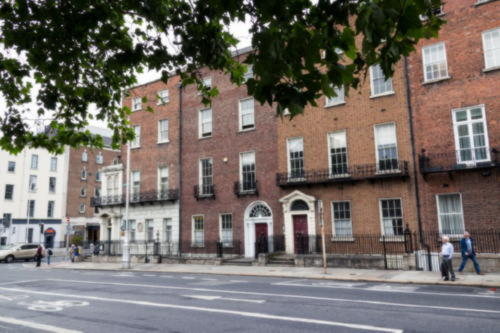 Emerald Cultural Institute İrlanda Dublin-Merrion Square Merkez